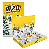 M&M'S Weihnachtskalender 2021 |Adventskalender mit Schokolade | Peanut, Chocolate und Crispy |346g