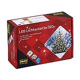 Idena 8325058 LED Lichterkette mit 80 LED in warm weiß, mit 8 Stunden Timer Funktion, für Partys, Weihnachten, Deko, Hochzeit, als Stimmungslicht, ca. 15,9 m